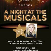 "Book your tickets now for ""A Night At The Musicals featuring Westend leading lady Kerry Ellis"" Call the box office on 01702 315135"